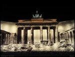 Brandenburger Tor - Then and Now