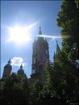 Sun Over Naumburg Dom