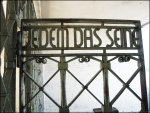 Buchenwald Concentration Camp Gate (trans: To each his own)