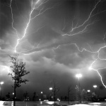 Thunderstorm 1 Seagull(6x6), Plus-X Pro, f 3.5, 4 sec.